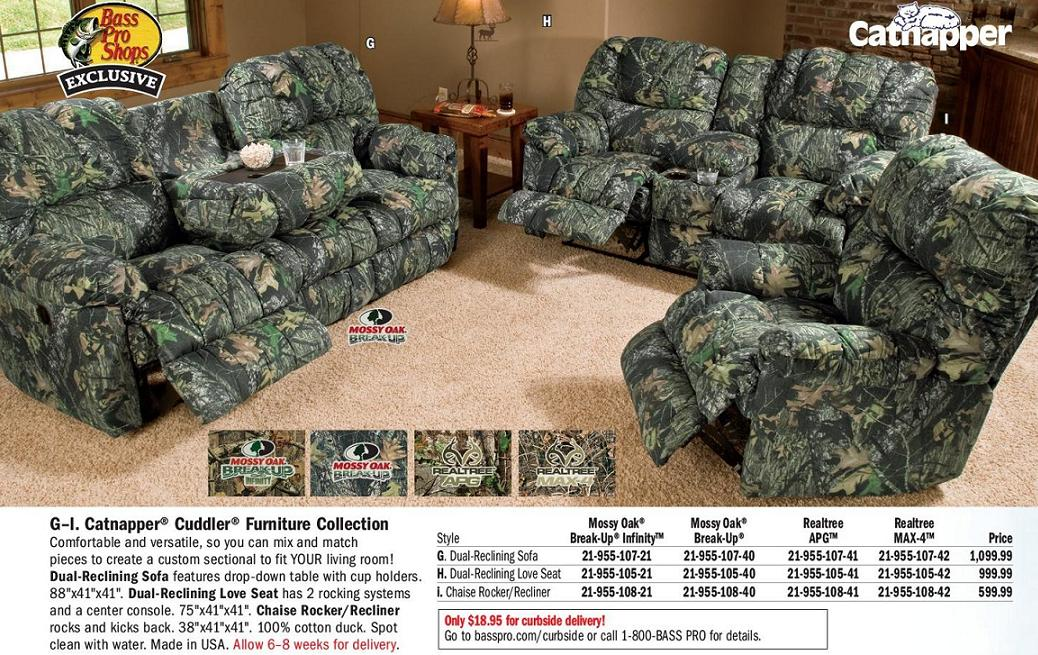 Camouflage furniture wants a blog