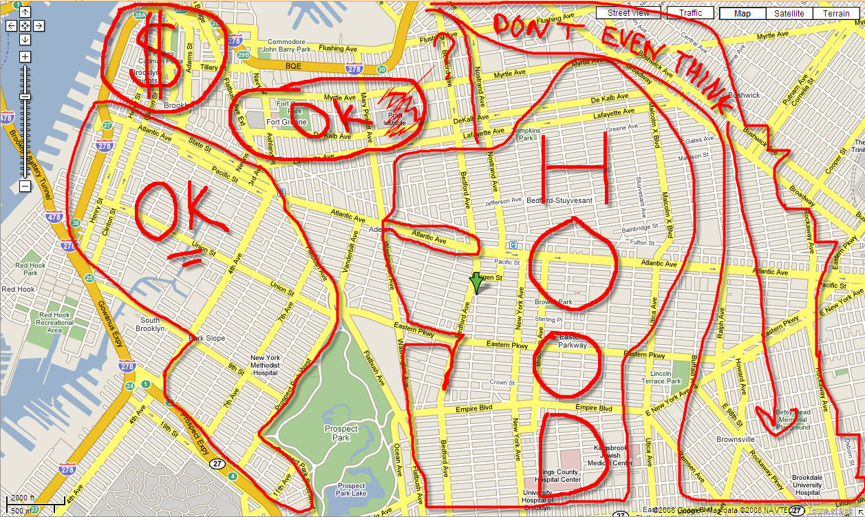 brooklyn neighborhood map with Moving On Up To What Is Apparently The Hood on Moving On Up To What Is Apparently The Hood further Tribecaskatepark furthermore Subs as well Tivolitowers Newyorkcity Ny Usa likewise Kansas City Municipal Stadium.